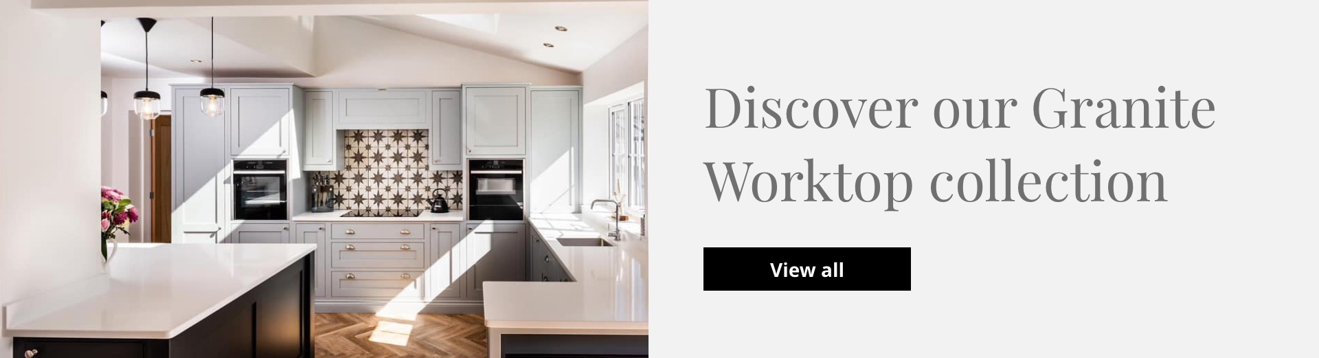 Discover our granite worktop collection